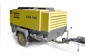 Road Diesel Engine Compressor Atlas Copco